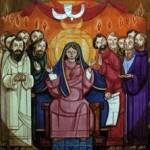 La Virgen María acompaña a la Iglesia en la espera de Pentecostés