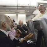 El Papa Francisco y los periodistas