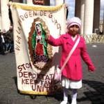 Francisco – Obama: la niña conmueve al Papa