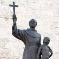 Fray Junípero Serra al honor de los altares