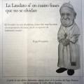 Una viñeta del Papa en el diario vaticano