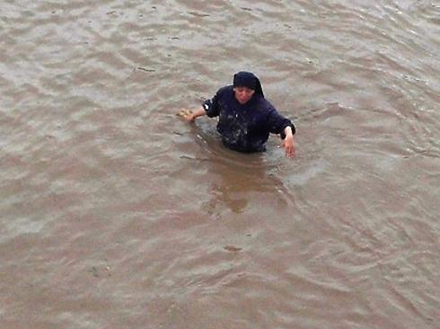 Hna. Estela inundaciones abril 2016