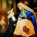 El ángel de santa Catalina