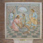 Toallas con las que Jesús lavó los pies a los apóstoles