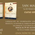 """Curso en línea """"Evangelio de San Marcos: La fe vence el miedo"""""""