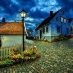 La nostalgia de la aldea